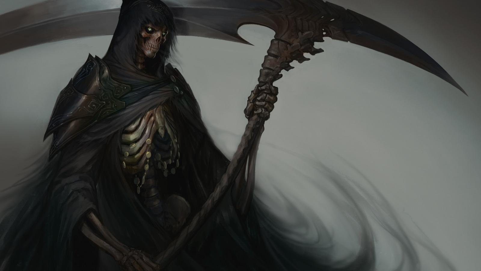 фэнтези графика женщина Grim Reaper  № 3256184 бесплатно