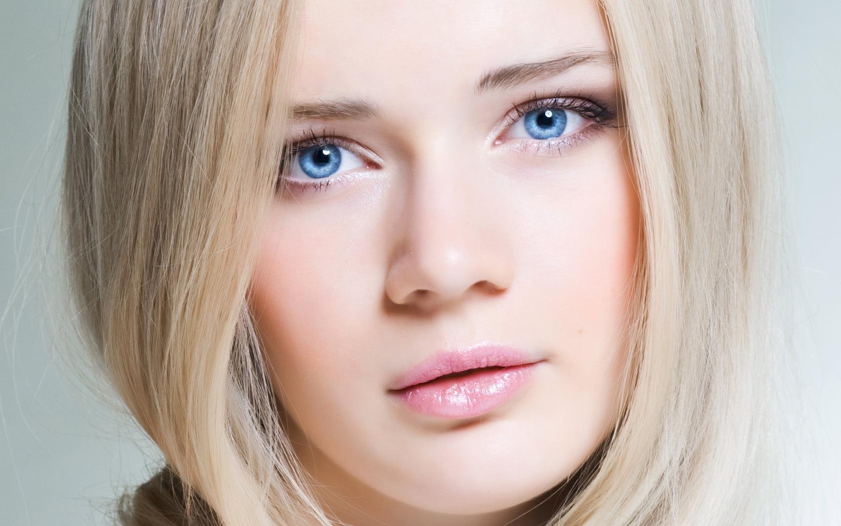 Фото макияж блондинок со светлой кожей