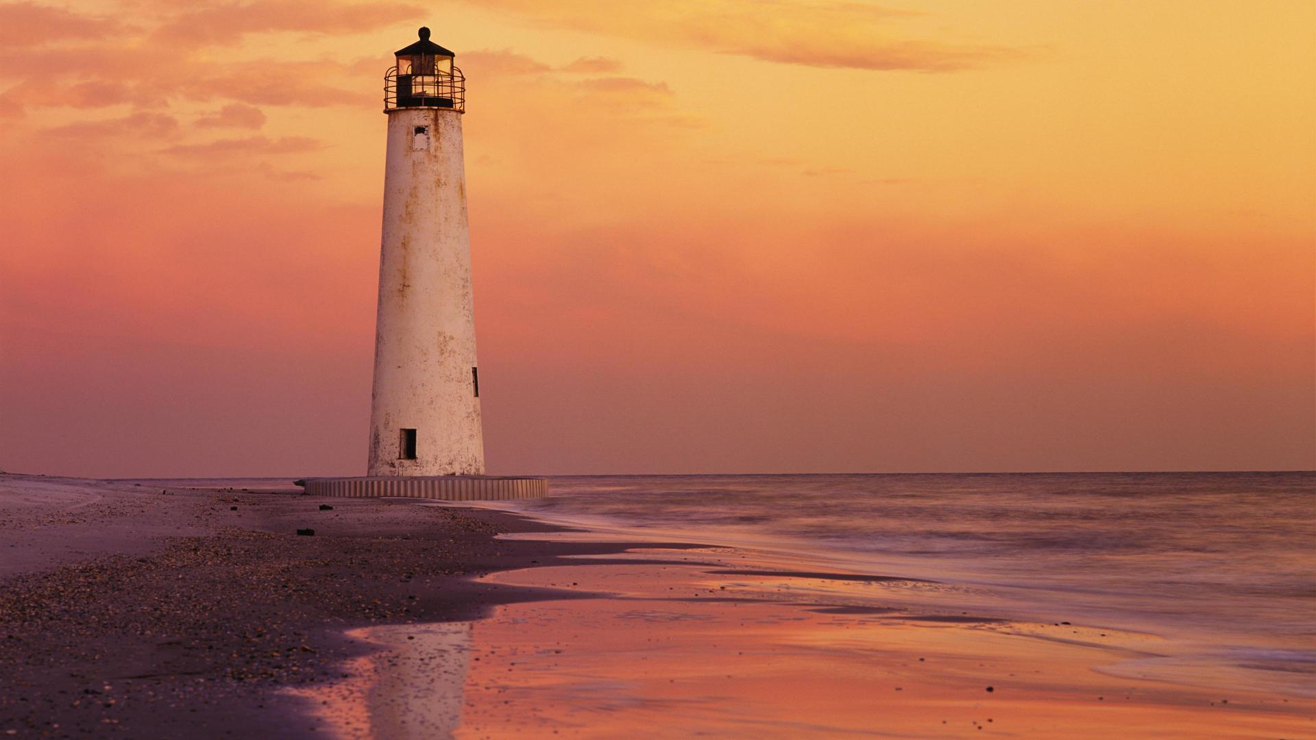 маяк небо море дом  № 3968886 без смс