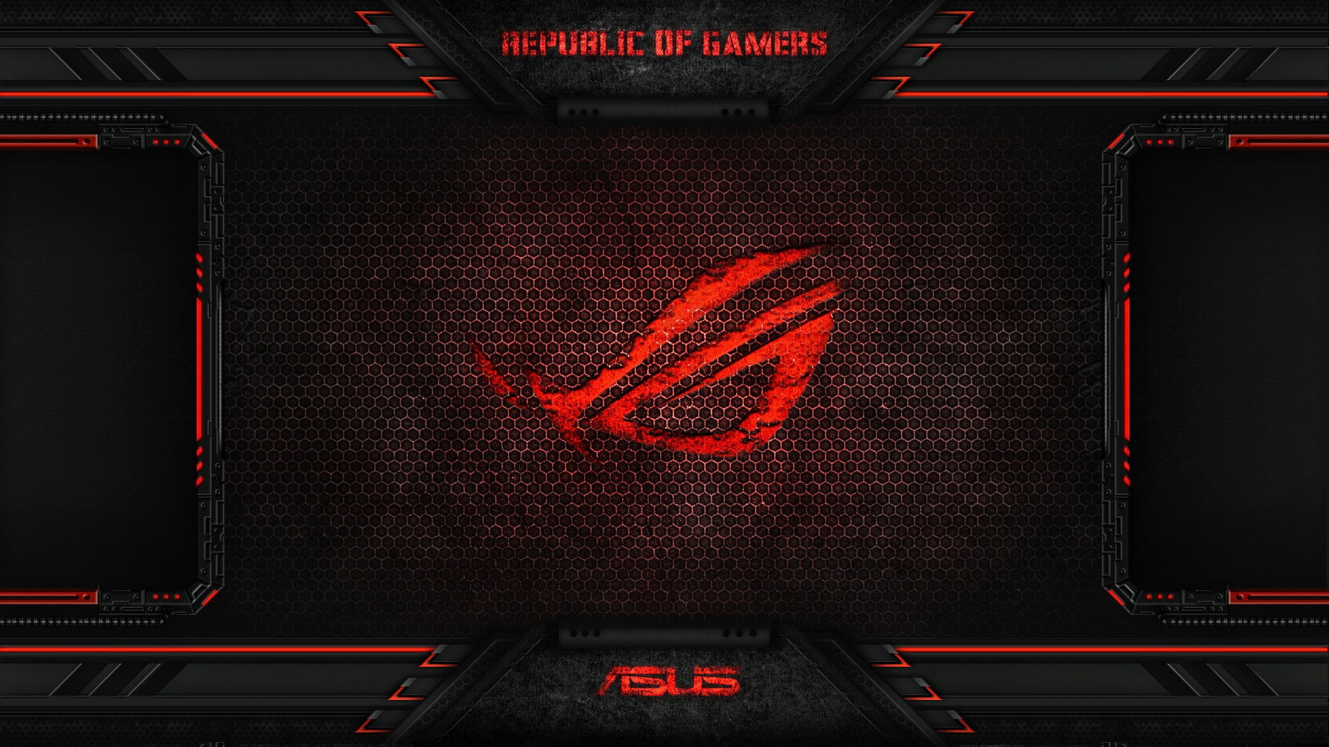 Red Asus Wallpaper: Download Wallpaper Red, Game, Asus, Rog, Asus Rog, Section