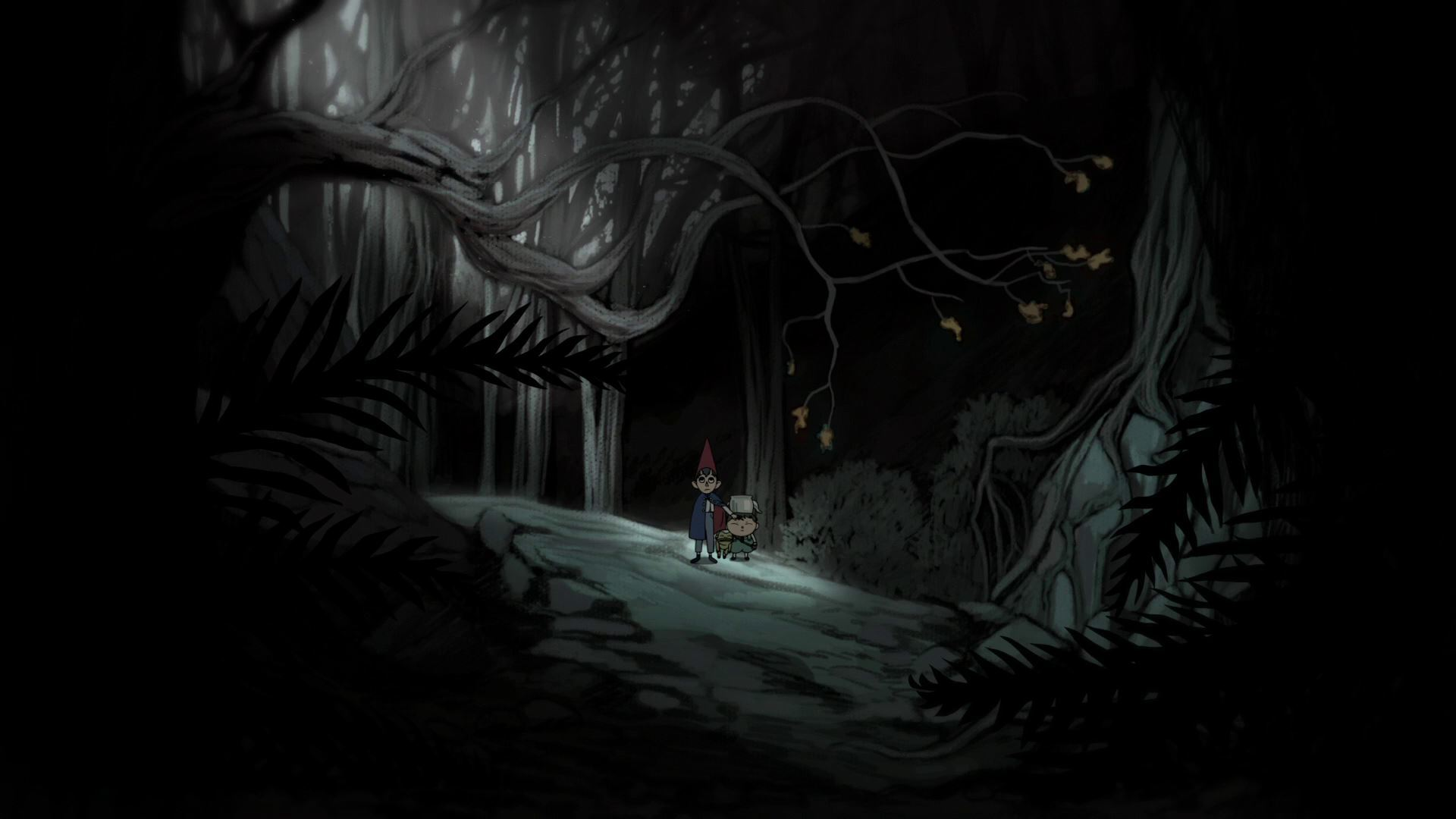 Download Wallpaper Forest Over The Garden Wall On The Other Side