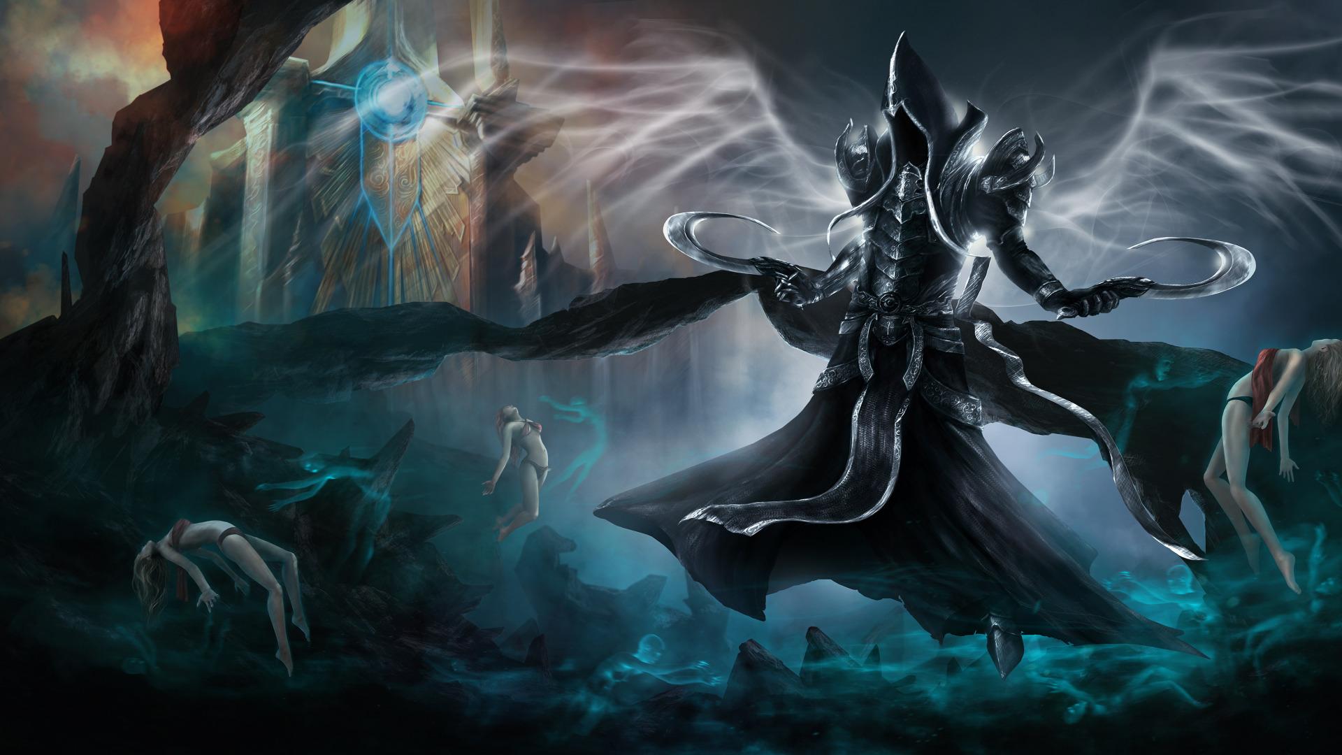Download Wallpaper Darkness Diablo 3 Diablo Iii Reaper Of Souls
