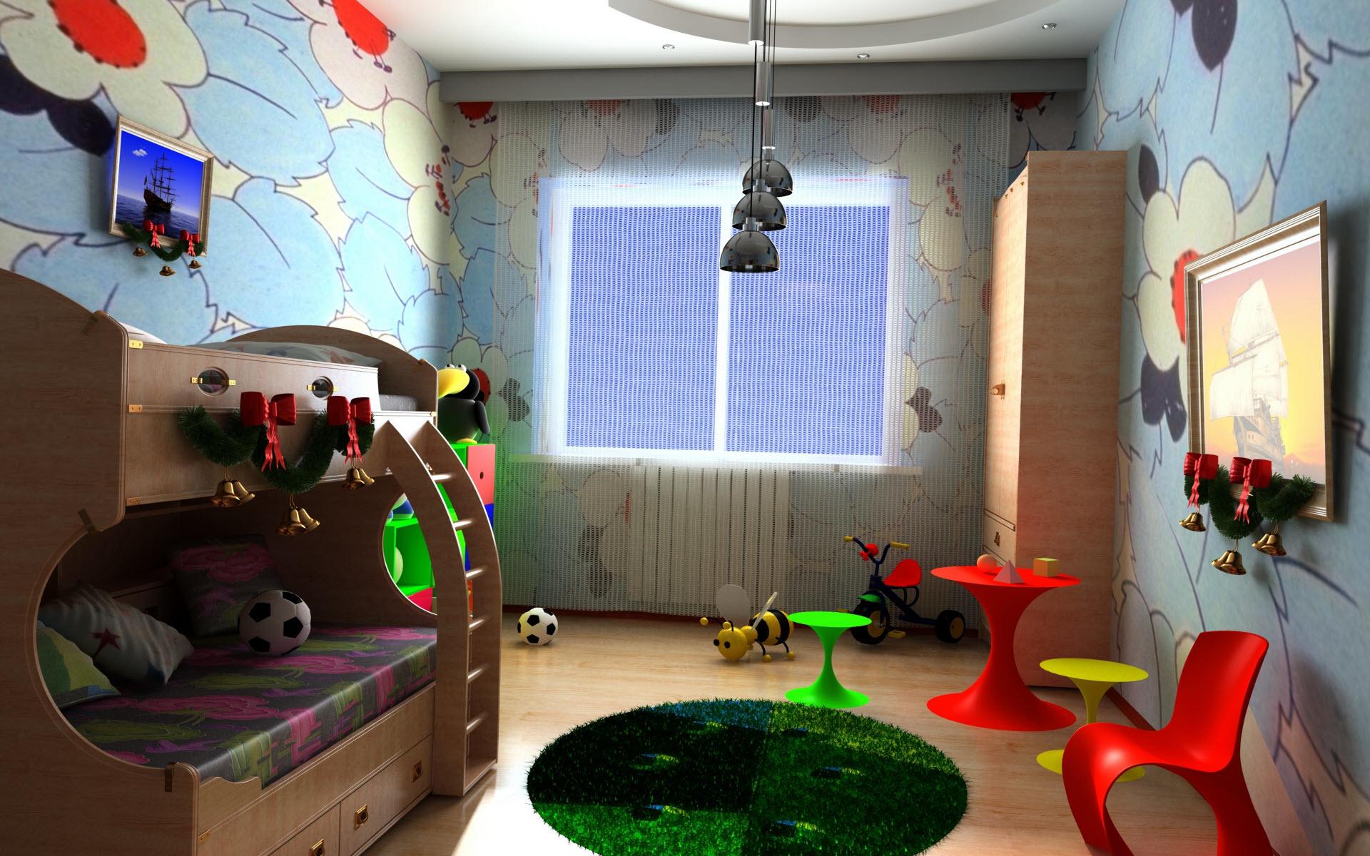 Детская комната  № 3567507 бесплатно