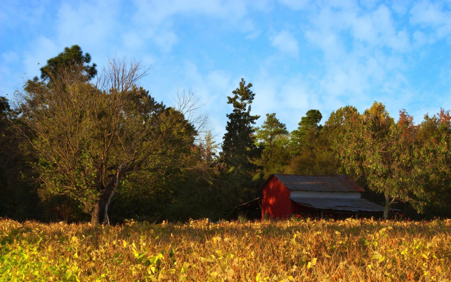 горы сарай осень mountains the barn autumn  № 387070  скачать