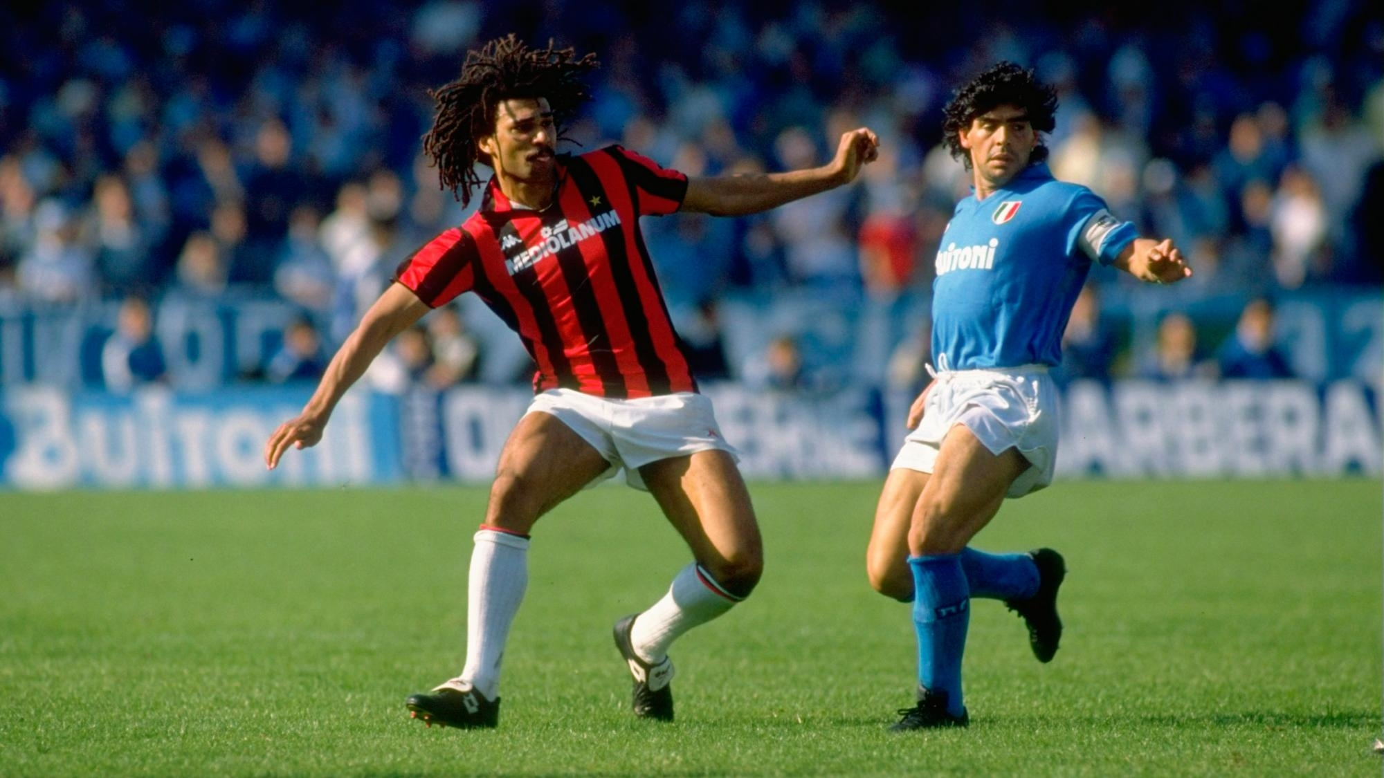 Ac milan vs napoly match images