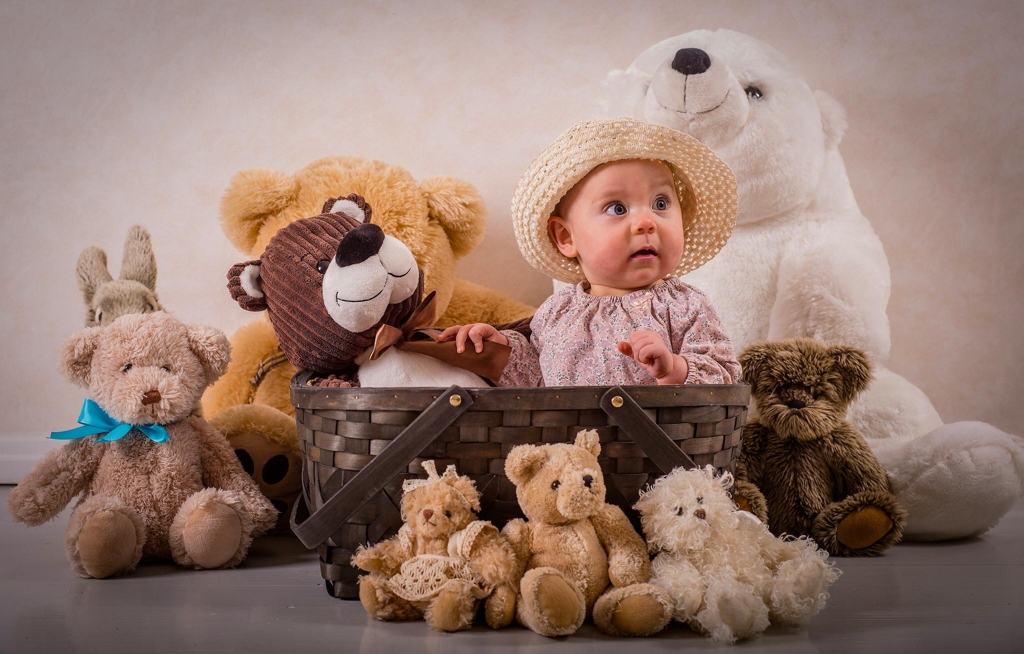 веселые девчонки и их игрушки - 11
