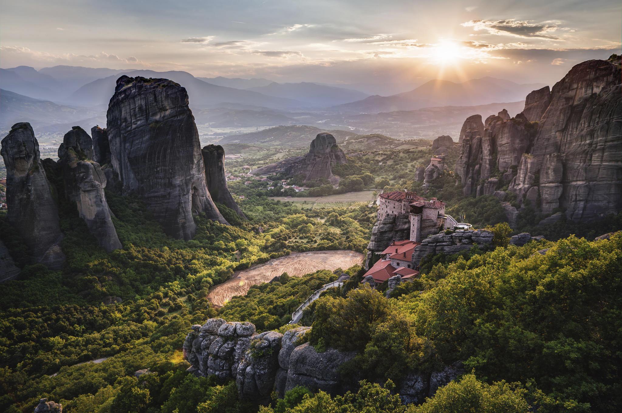 Varlaam Monastery, Meteora, Greece  № 10843 бесплатно