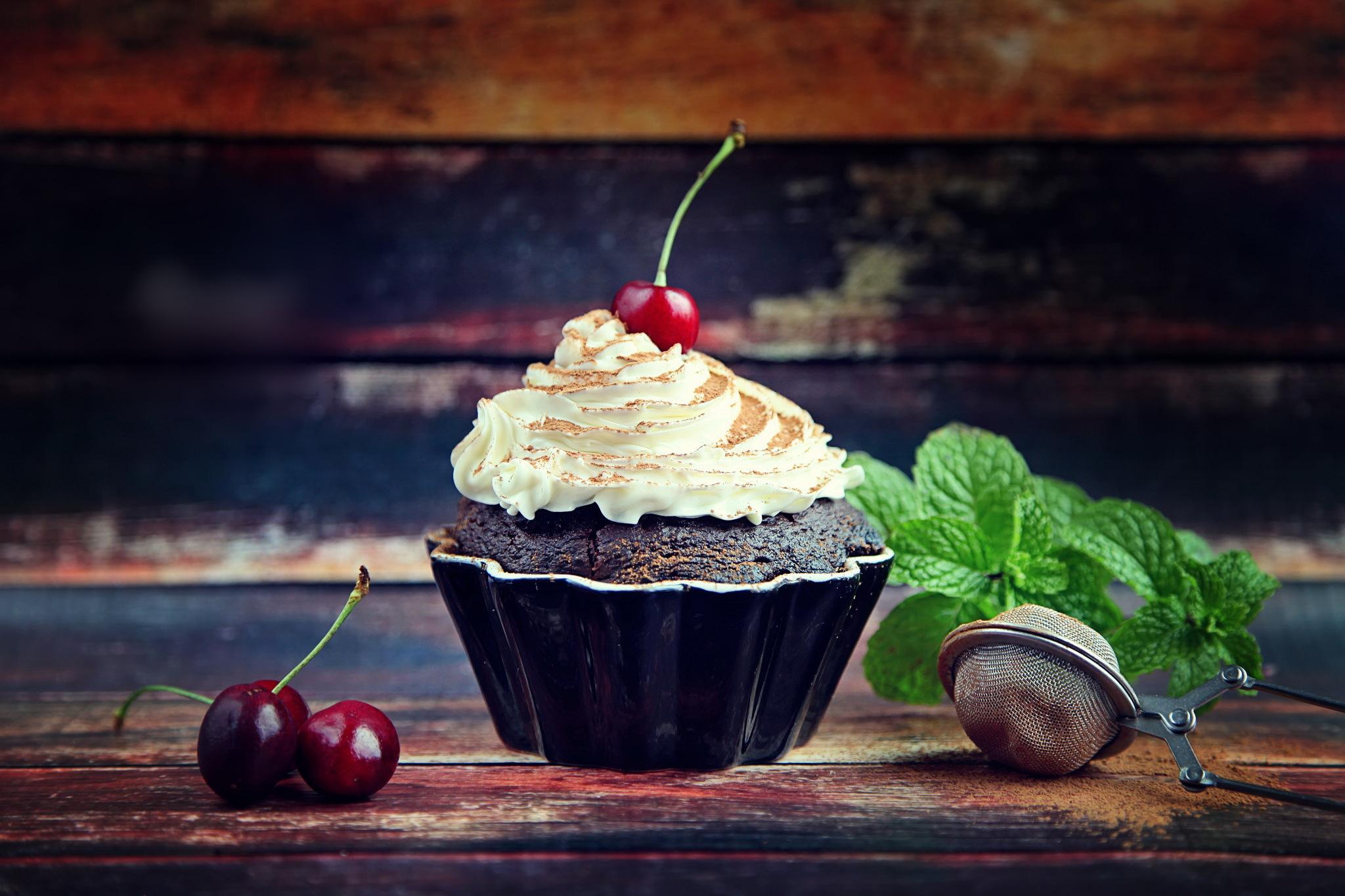 еда ягоды кексы  № 2152817  скачать