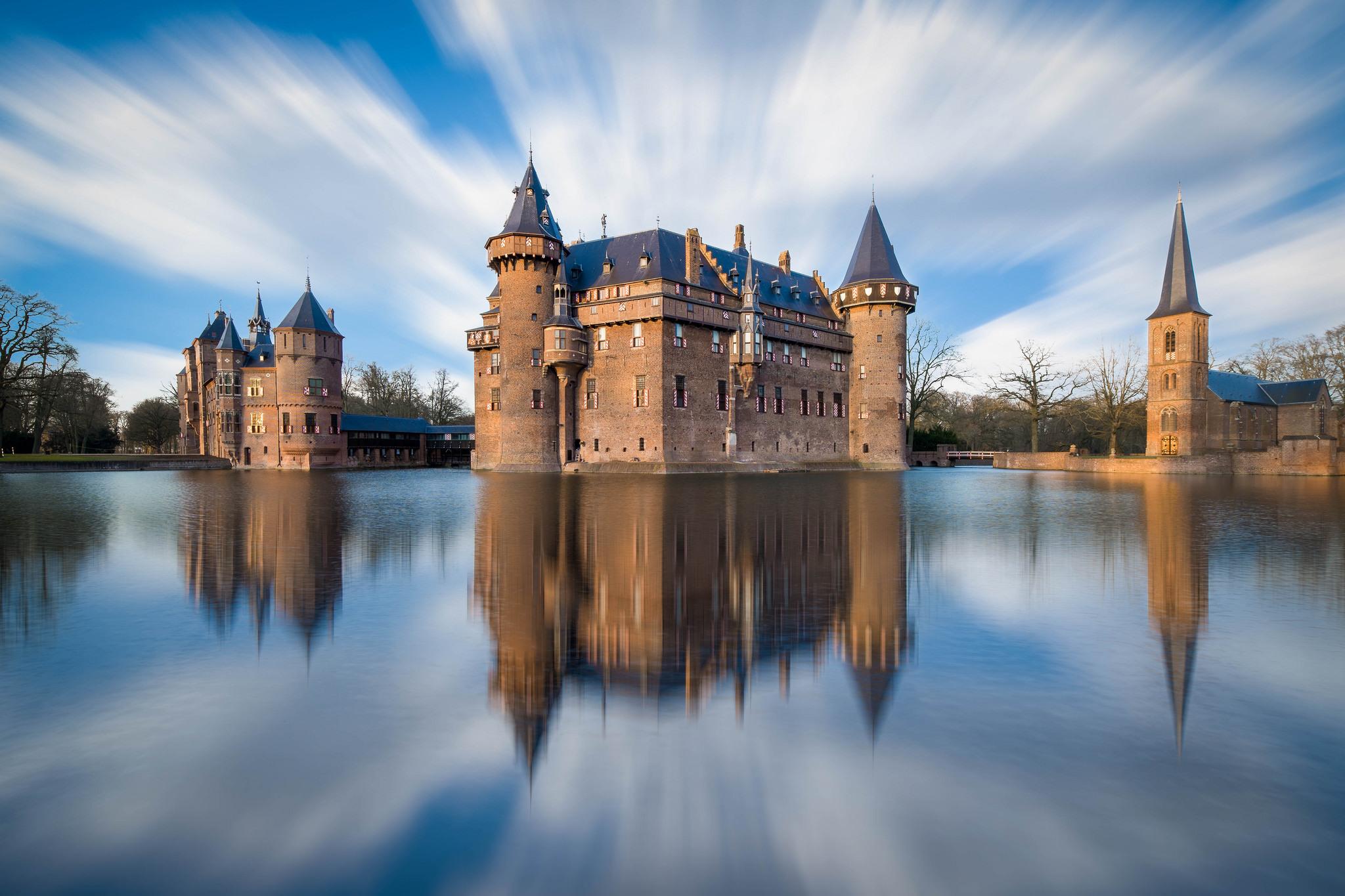 замок на воде  № 158423 бесплатно