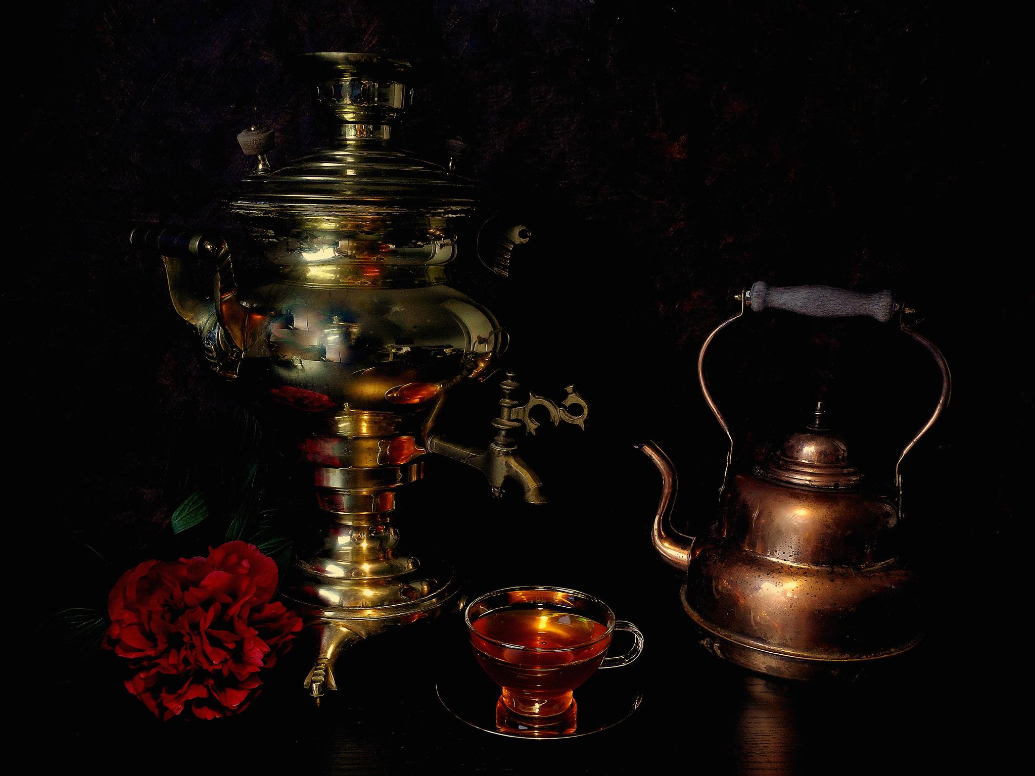 хлеб чай кружка чайник масло  № 2118890 загрузить
