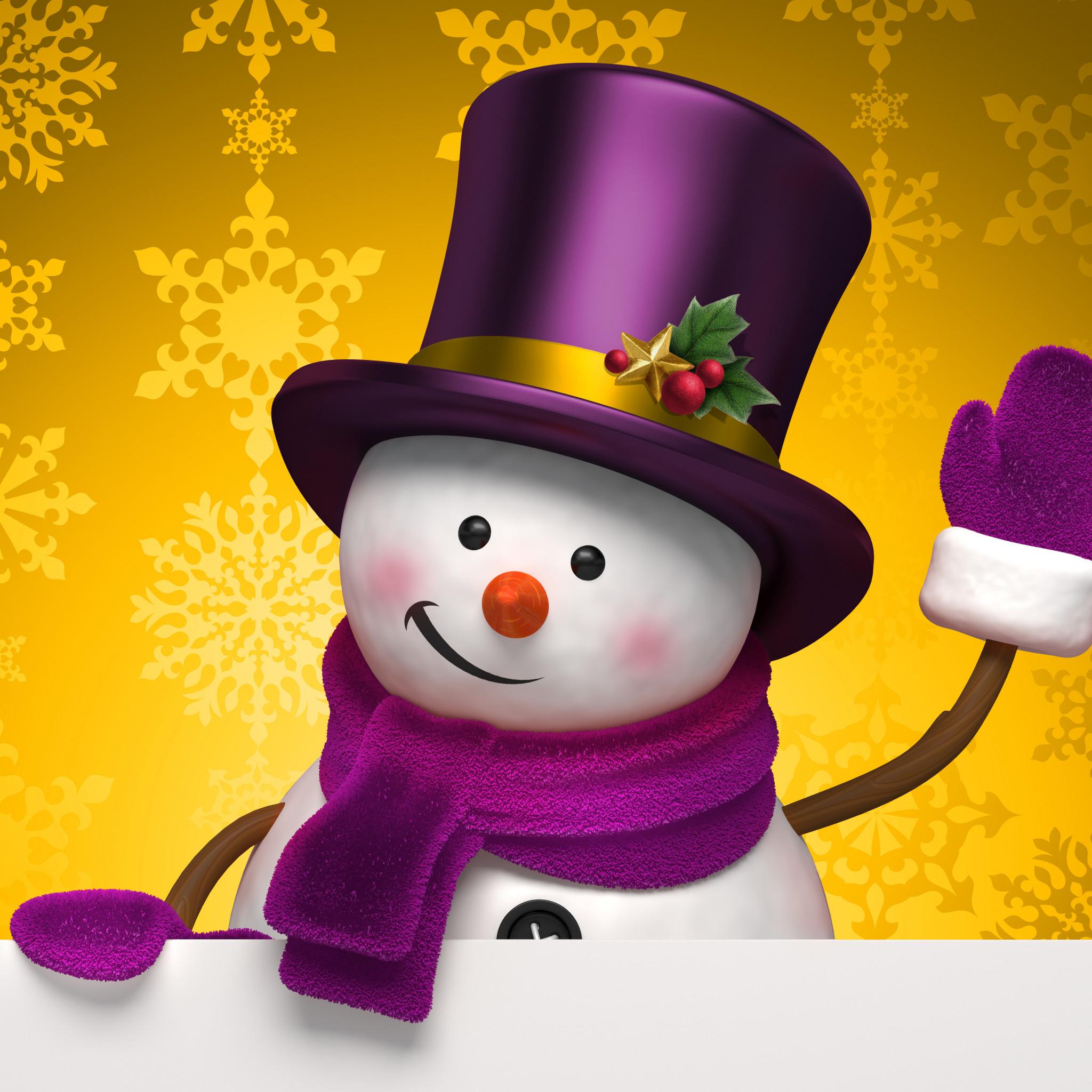 Обои На Телефон Зима Новый Год Прикольные