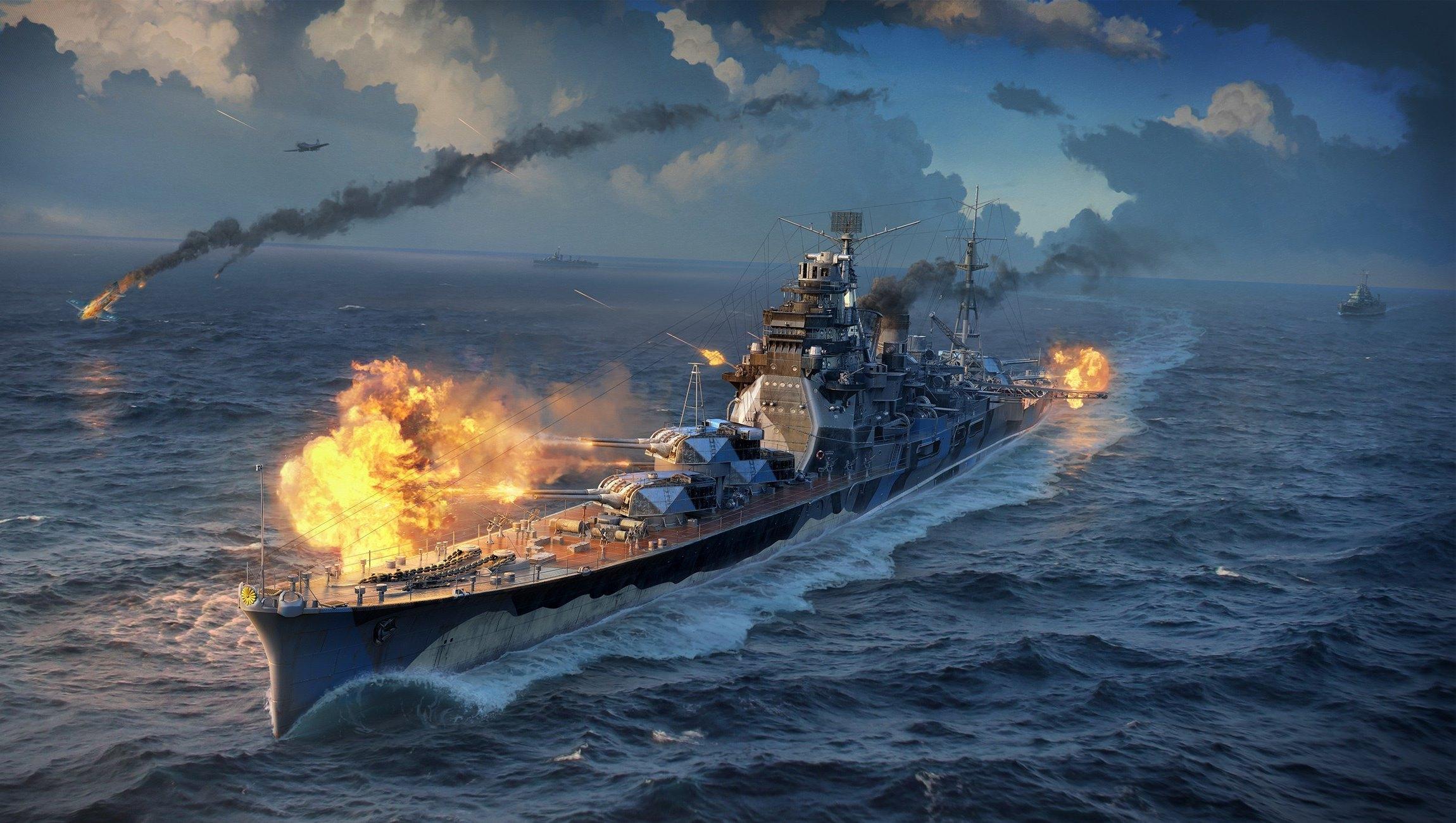 обои для рабочего стола world of warships 1280x1024 № 248336 бесплатно