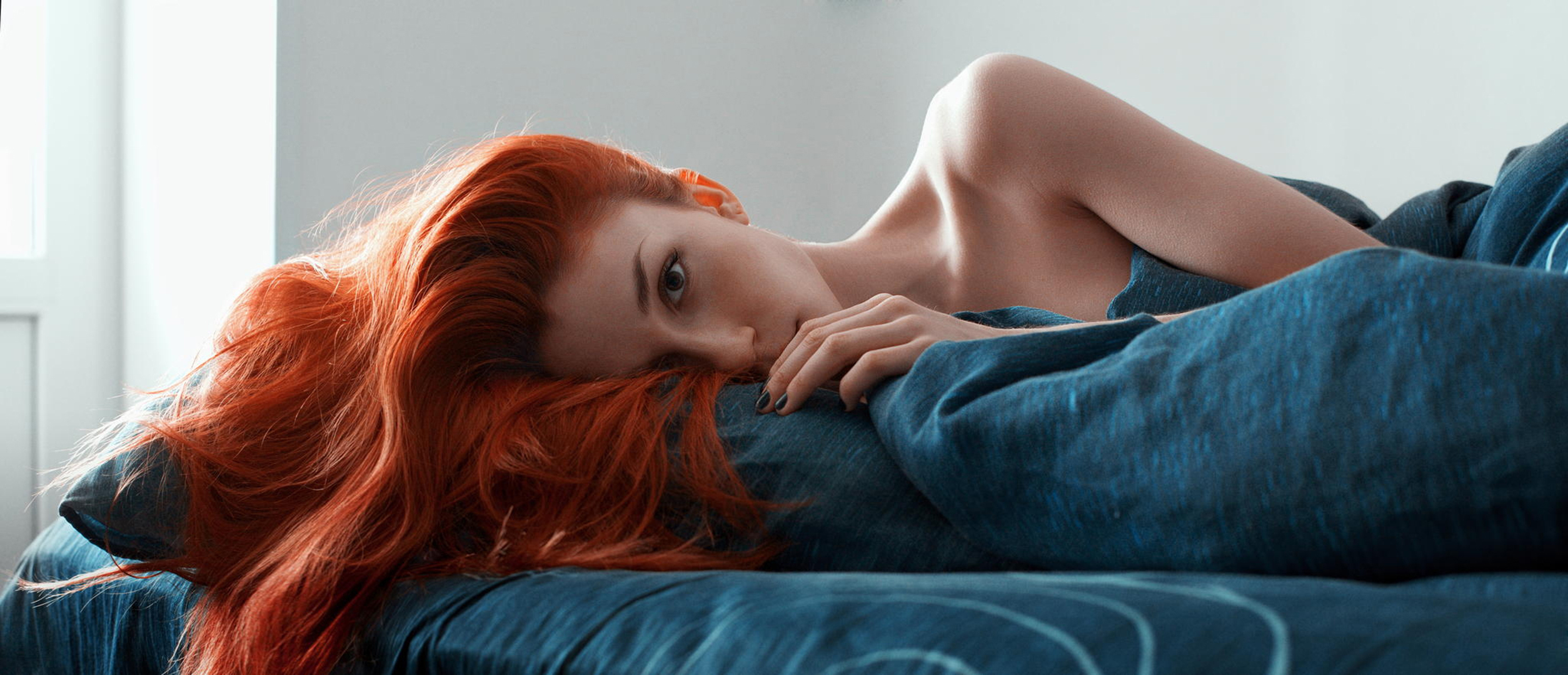 redhead babe can take care of two long cocks  311403