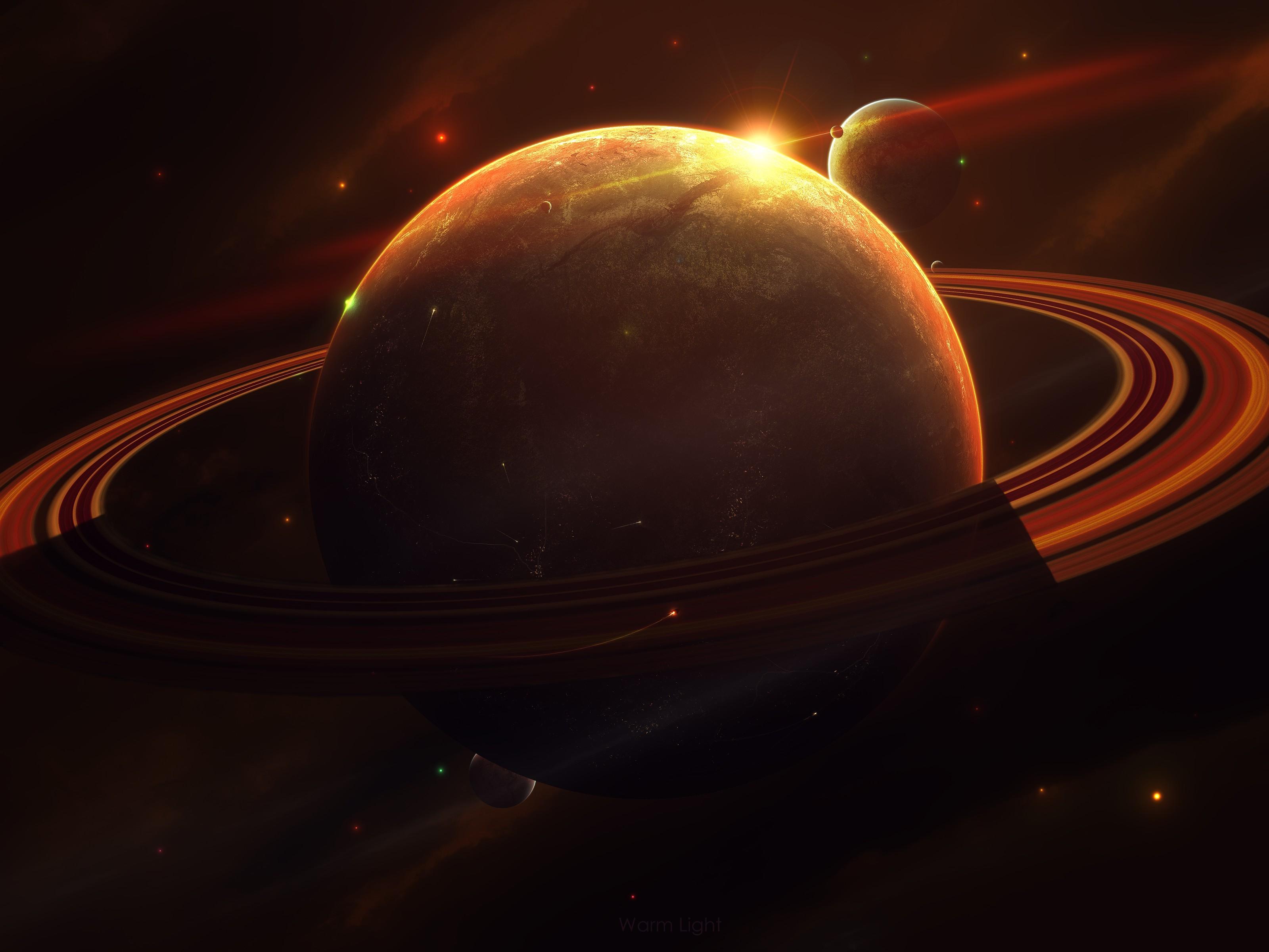 planet saturn rings - HD1920×1080