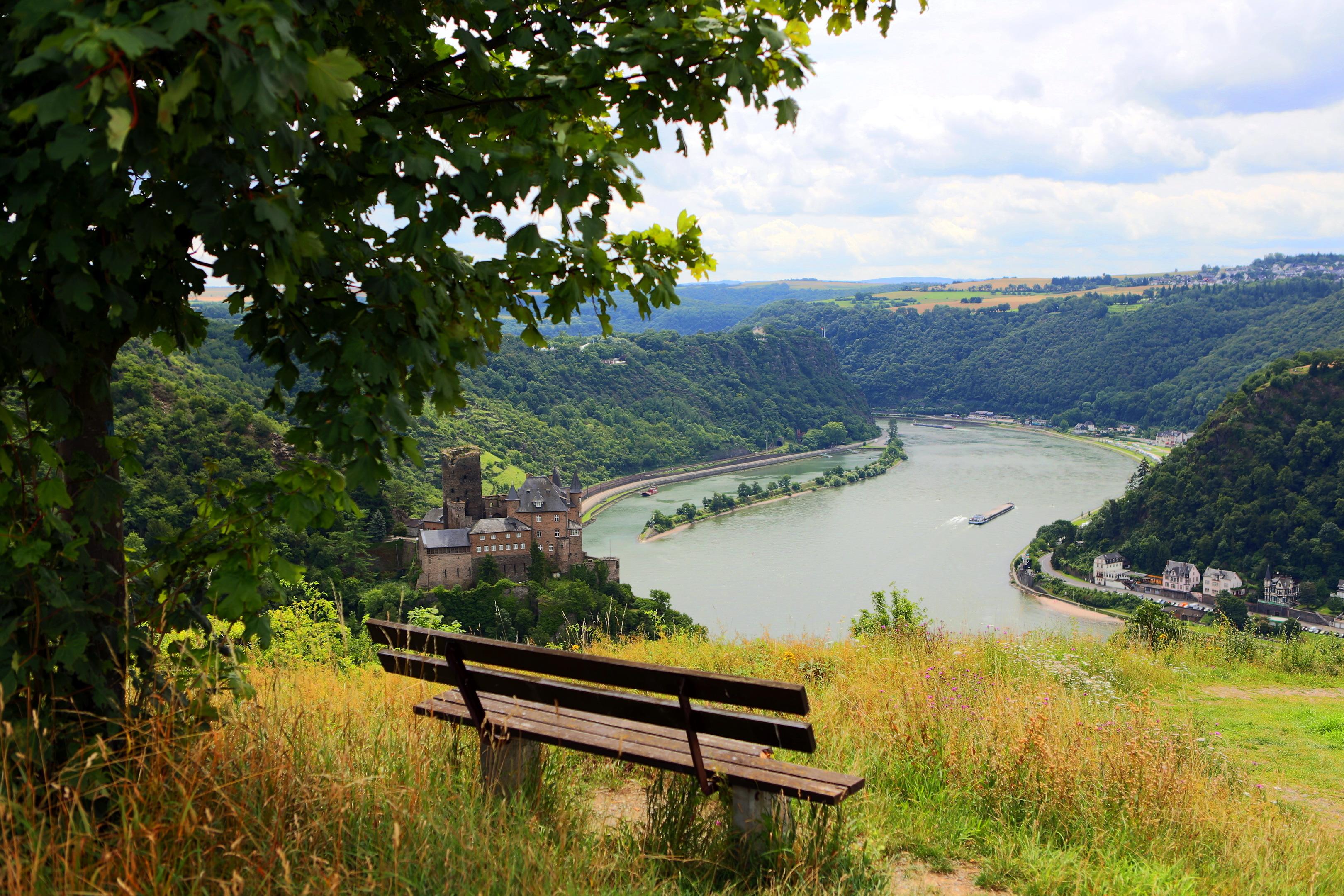 Lorch Village, Hesse, Rhine River, Germany  № 78277 бесплатно