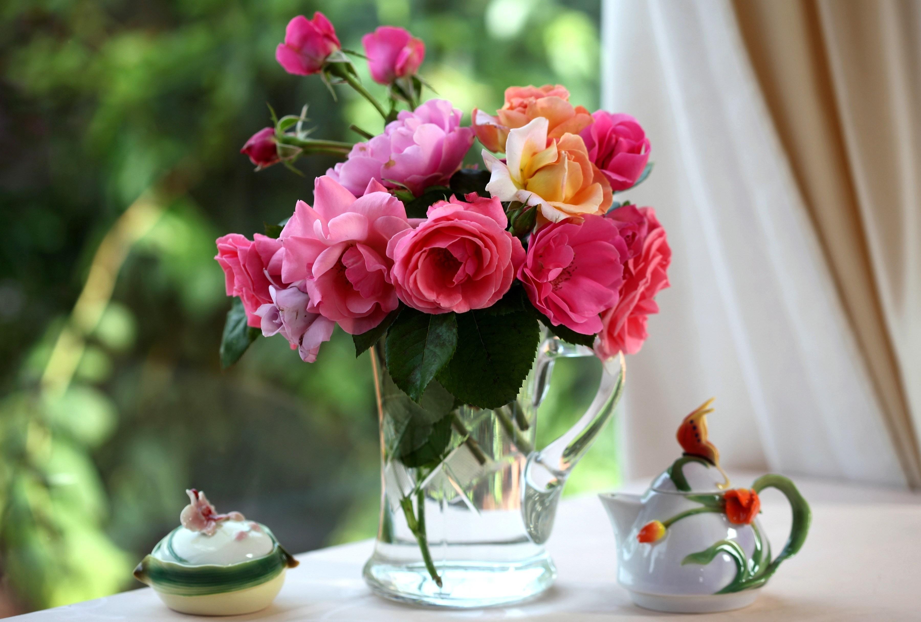 цветы ваза букет посуда flowers vase bouquet dishes  № 1733818 бесплатно
