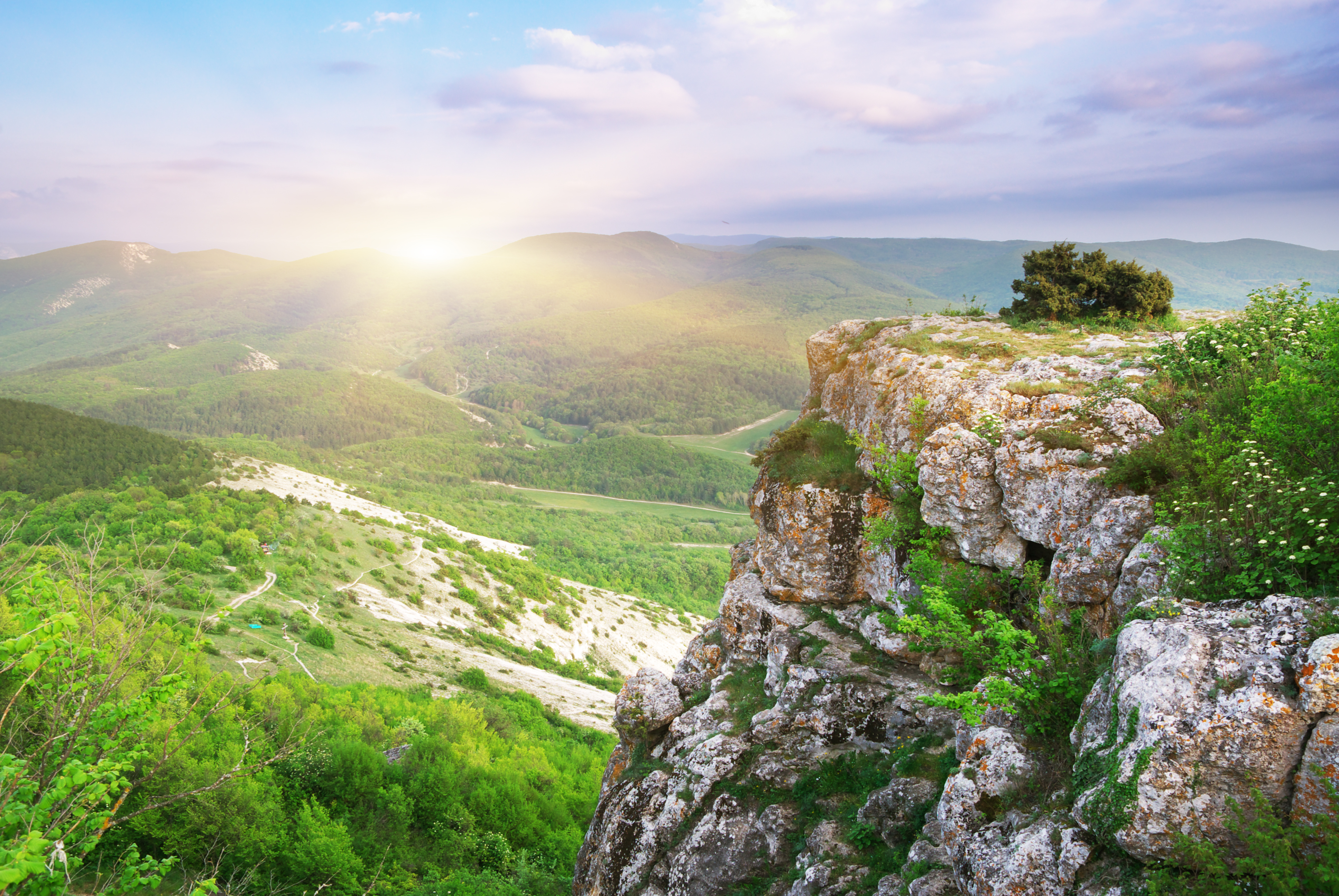 природа горы деревья скалы небо nature mountains trees rock the sky  № 379269  скачать