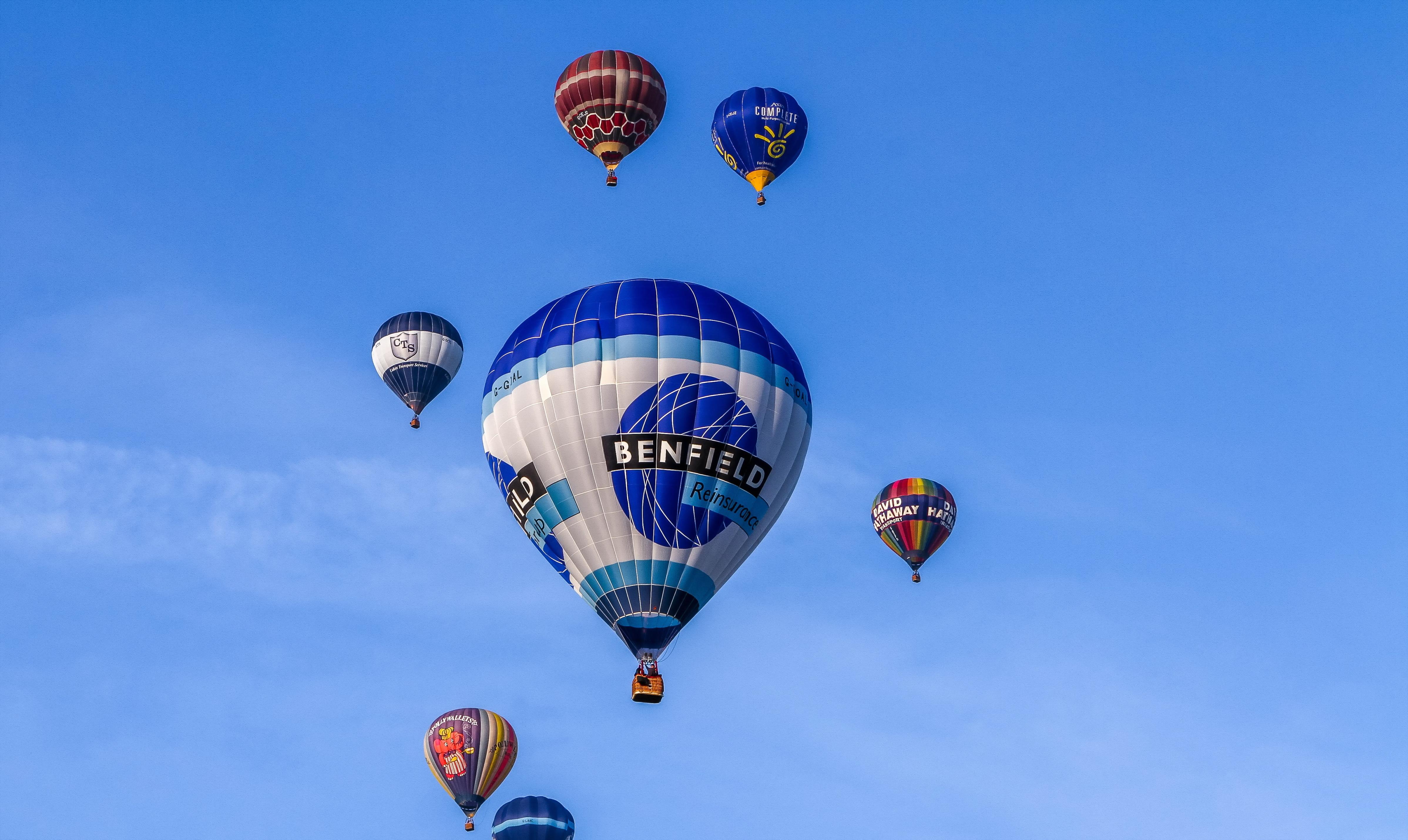 шары небо balls the sky  № 1008100 бесплатно