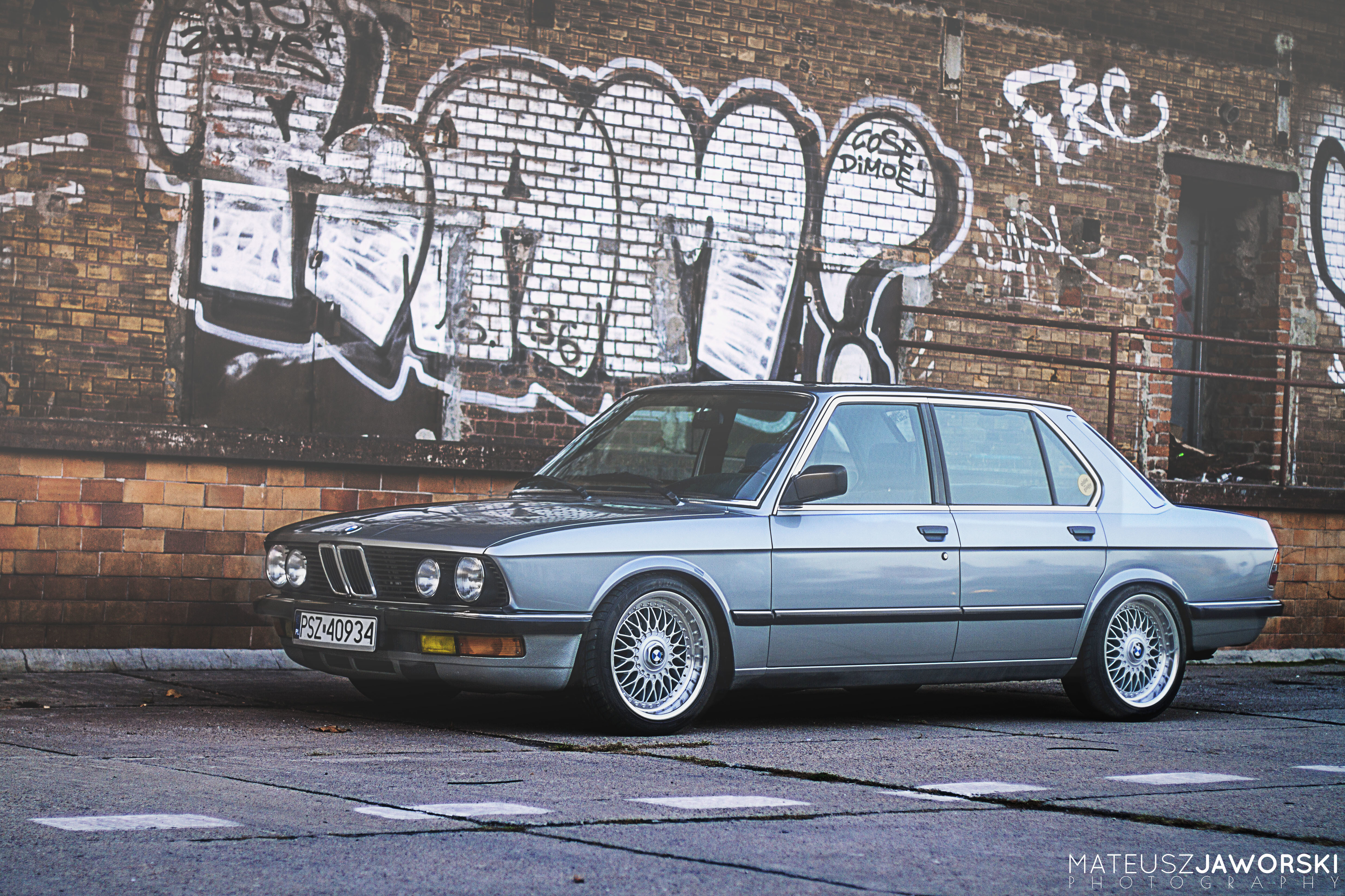 Download Wallpaper Bmw 5 Series Bbs Stance E28 Section In Save It