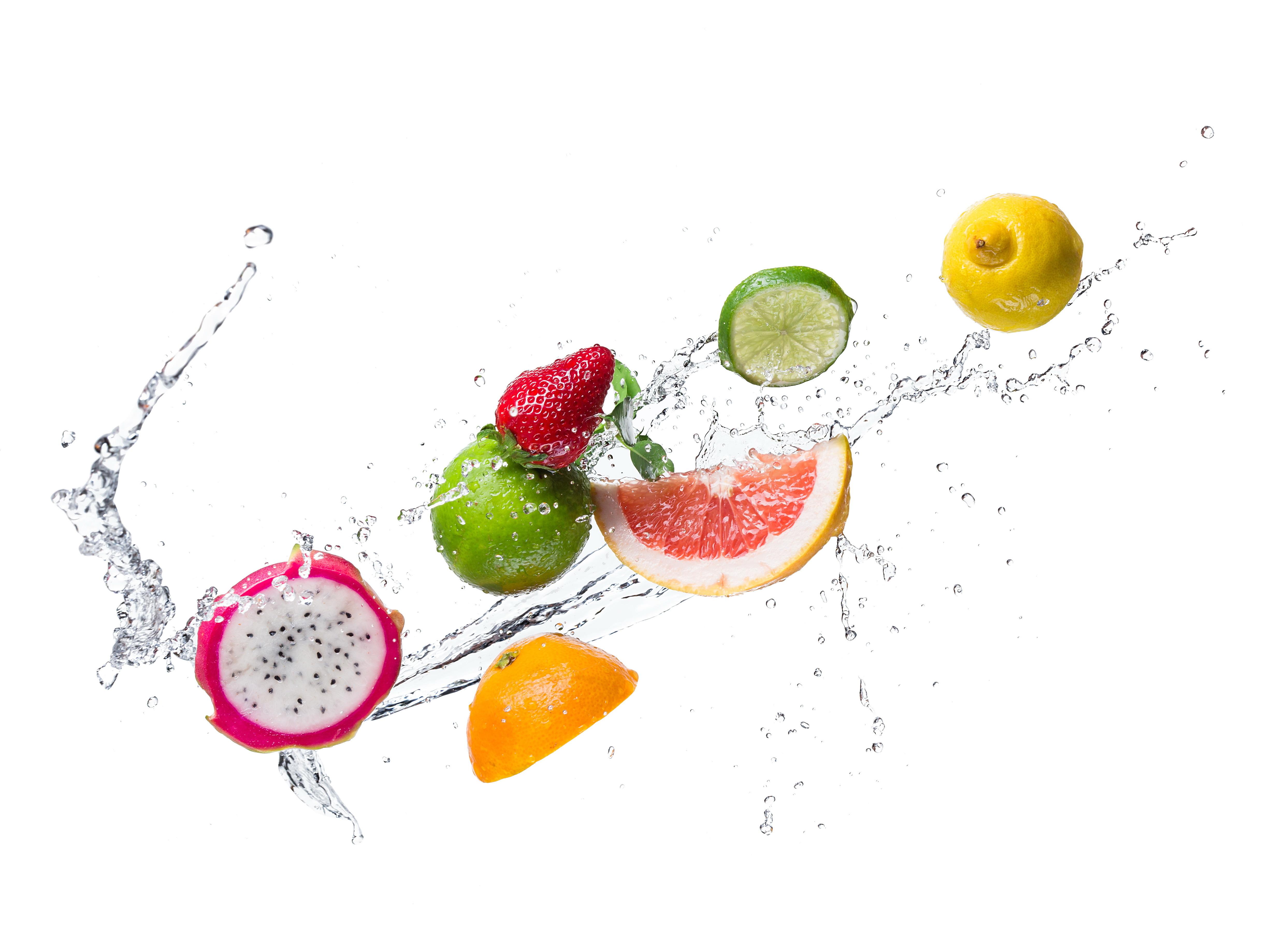 еда напитки лайм лимон апельсин клубника вишня коктейль food drinks lime lemon orange strawberry cherry cocktail  № 2154591 без смс