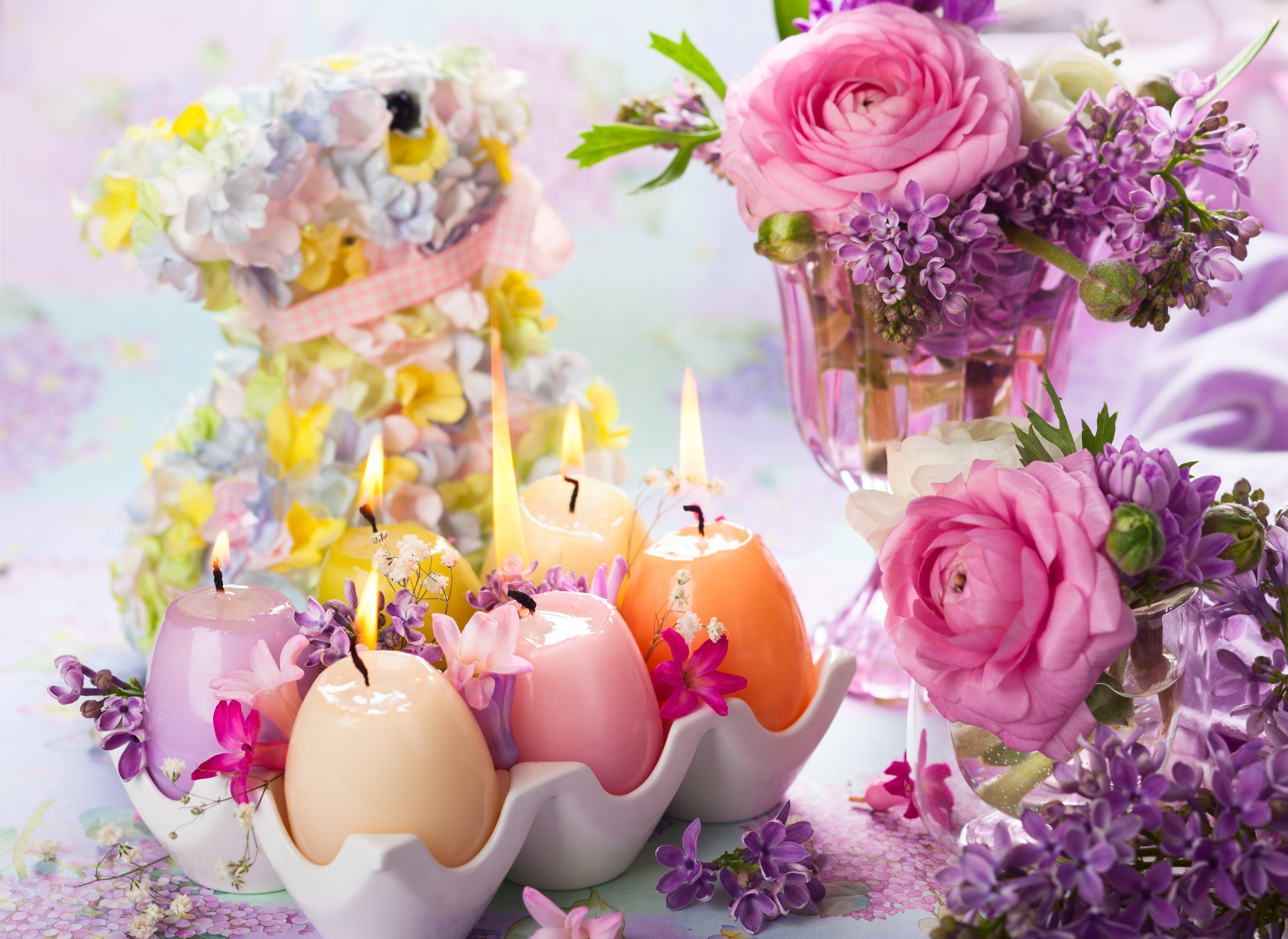 цветы свечи  № 1504314 загрузить