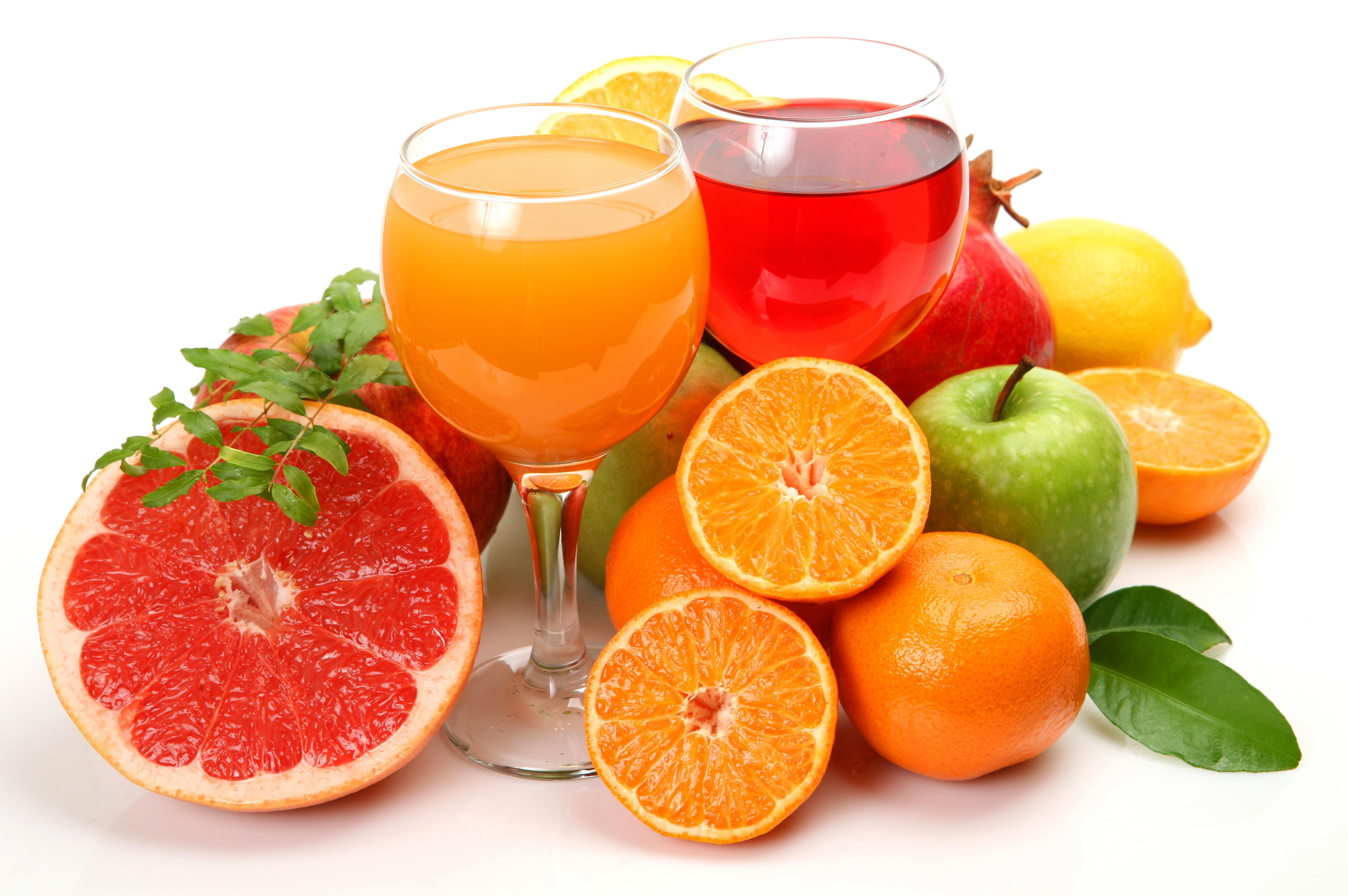 сок яблоки цитрусы помидоры  № 2265262 загрузить