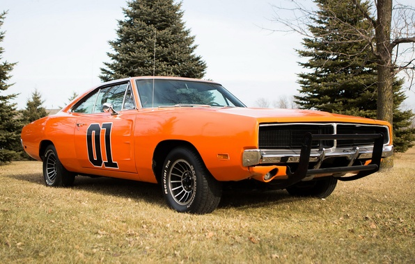 Picture 1969, Dodge, Dodge, Charger, the charger, General Lee