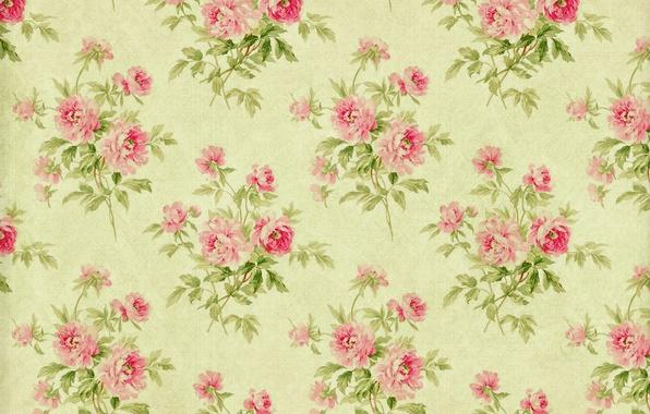 Picture background, wallpaper, ornament, vintage, texture, floral, pattern, paper, floral