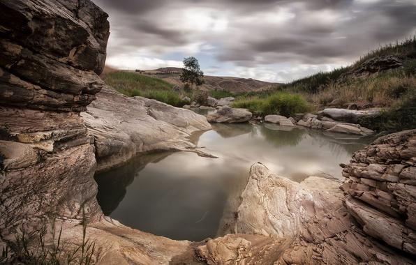 Picture landscape, nature, rocks