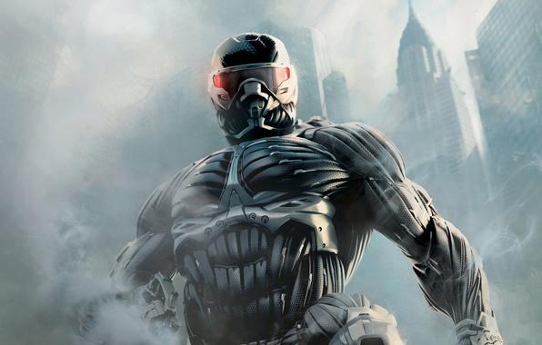 Picture The city, Smoke, Crysis 2, Crisis, Crytek