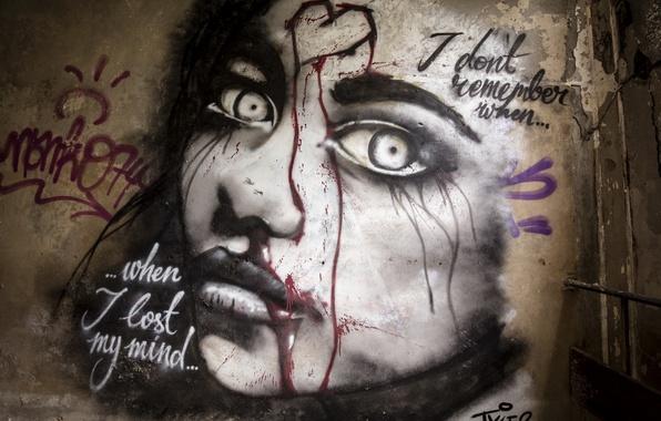 Picture background, wall, grafiti