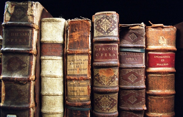 Picture old, opera, books