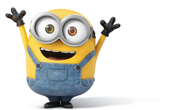 wallpaper happy look minions bob images for desktop section