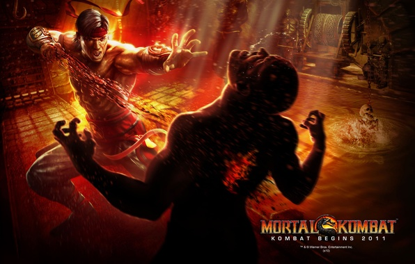 Picture art, Mortal Kombat, Liu Kang