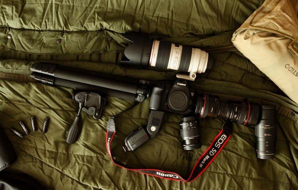 Picture camera, the camera, Canon, configuration