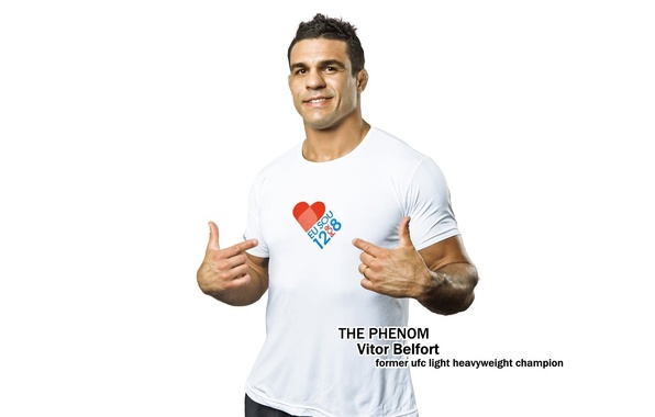Picture white background, fighter, fighter, mma, ufc, vitor belfort, mixed martial arts, Vitor Belfort