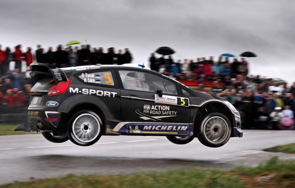Picture Ford, Auto, Black, Sport, Machine, Speed, People, Ford, Race, WRC, Rally, Fiesta, Side view