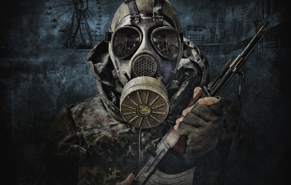 Picture soldiers, Stalker, call of Pripyat, Pripyat, Kalash, S.T.A.L.K.E.R, Call Of Pripyat