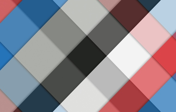 Picture blue, red, black, texture, geometry
