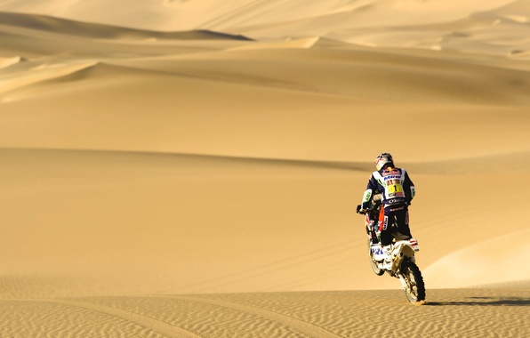 Picture Sand, Sport, Desert, Day, Motorcycle, Racer, Moto, Heat, Rally, Dakar, Dakar, Rally
