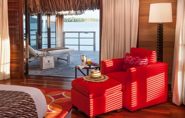 Picture design, style, interior, the hotel, Bungalow