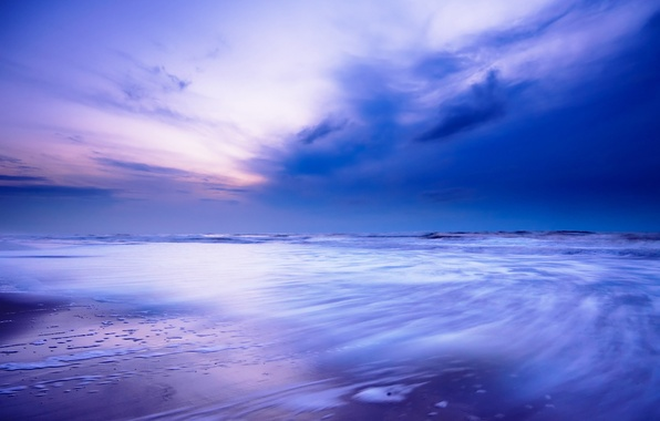 Picture sea, wave, the sky, water, the ocean, shore, landscapes, surf, tide