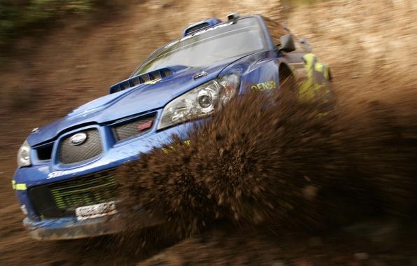 Picture Subaru, Impreza, Sport, Dirt