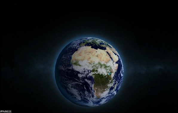 Picture Space, Light, Earth, The world, Darkness, Terra, Blue planet