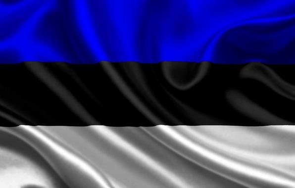Picture flag, Estonia, estonia