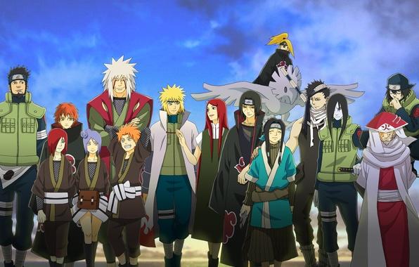 Picture anime, Naruto, Naruto, Uchiha Itachi, Deidara, Sasori, Kushina Uzumaki, Gekkou Hayate, Yahiko, Namikaze Minato, Konan, …
