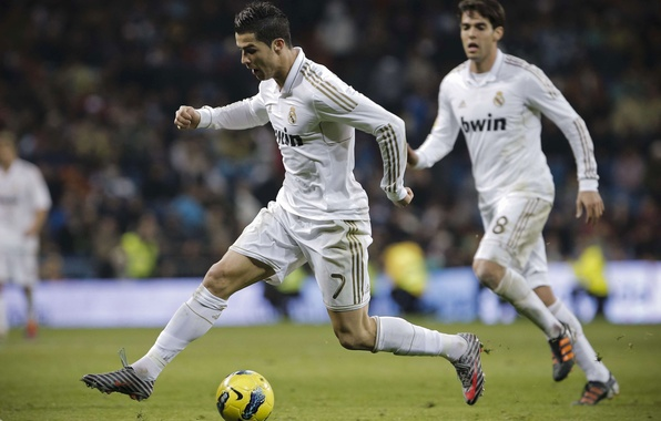 Picture CR7, Real Madrid, Real Madrid, C.Ronaldo, Ricardo Kaka, CriRo, C. Ronaldo, R.Kaka