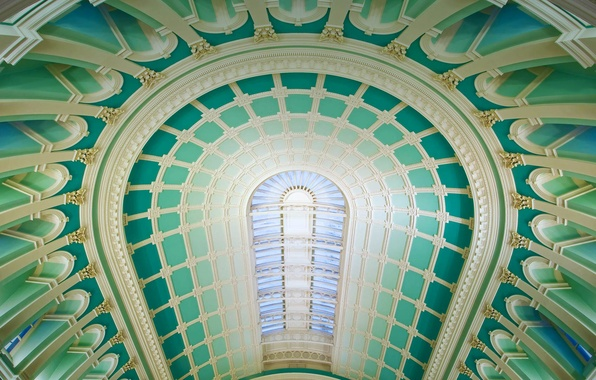 Picture the dome, Dublin, National library of Ireland, reading room