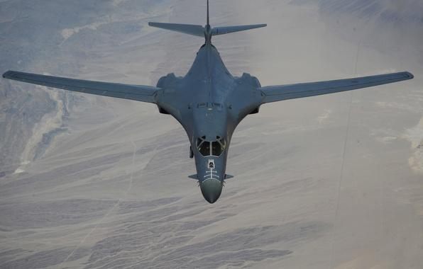 Picture Lancer, bomber, B-1B, strategic, supersonic