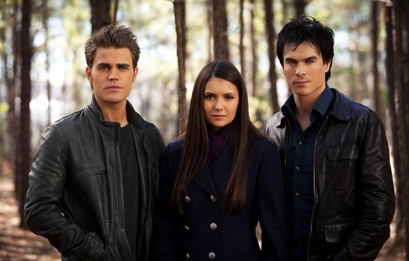 Picture girl, the series, guys, Nina Dobrev, Nina Dobrev, actors, The Vampire Diaries, the vampire diaries, …